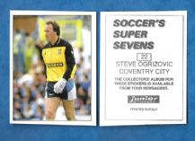 Coventry City Steve Ogrizovic 22